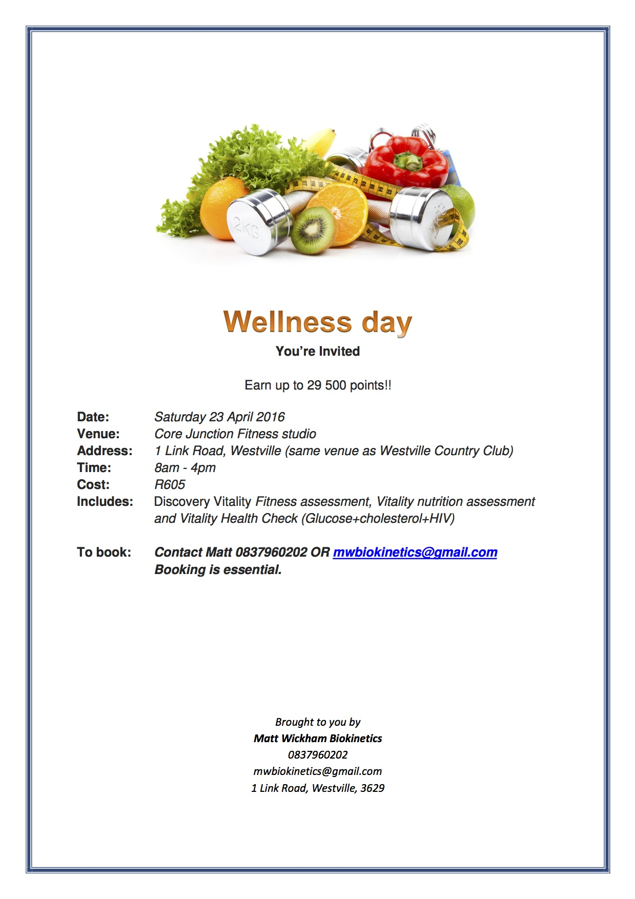 discovery health wellness day healthy day